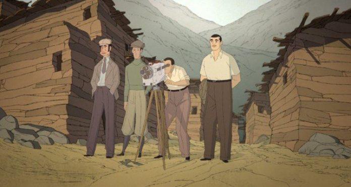 Fotograma de 'Buñuel en el laberinto de las tortugas'. / Cinemateca