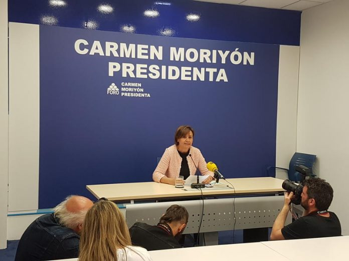 Carmen Moriyón renuncia al acta de diputada pero va siguir lliderando Foru. / Foru Asturies