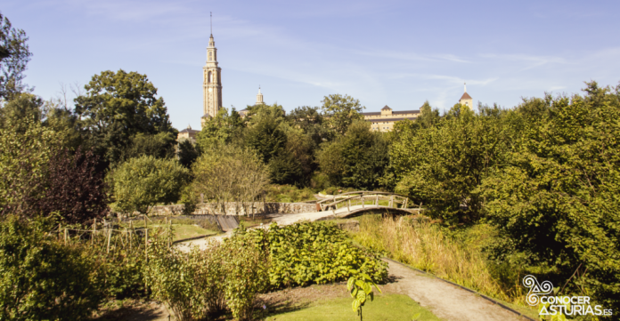 Vista del Xardín Botánicu de Xixón