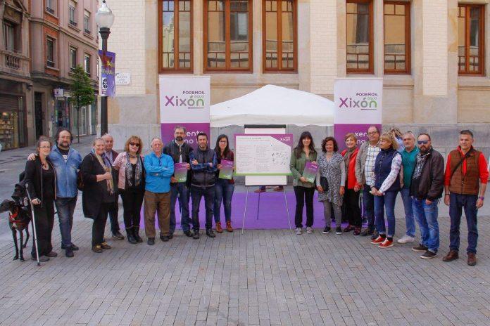 Los candidatos de Podemos-Equo. / PODEMOS-EQUO