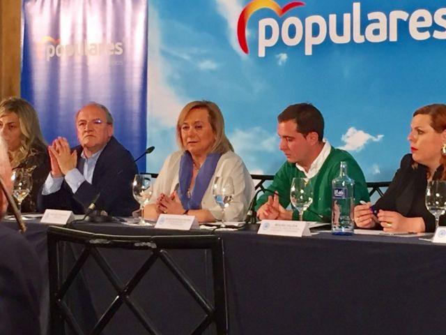 Mercedes Fernández, nel Comité Executivu autonómicu del PP celebráu n'Uviéu. / PP