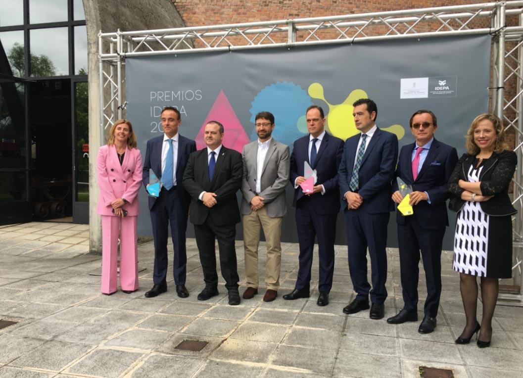 Hiasa, Asturmadi Doors e Izertis, ganadores de los premios Idepa 2019