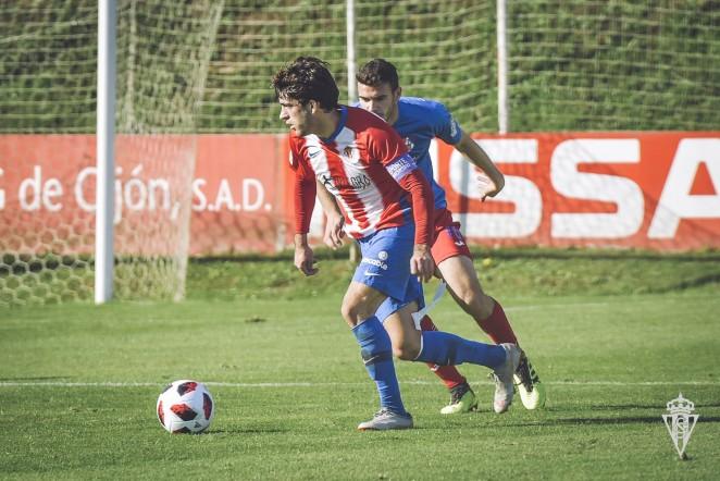 Ramón Riego y Pablo Fernández dexen el Sporting. / Real Sporting