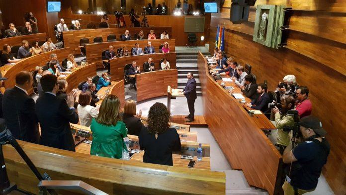 Adrián Barbón, nuevu presidente d'Asturies
