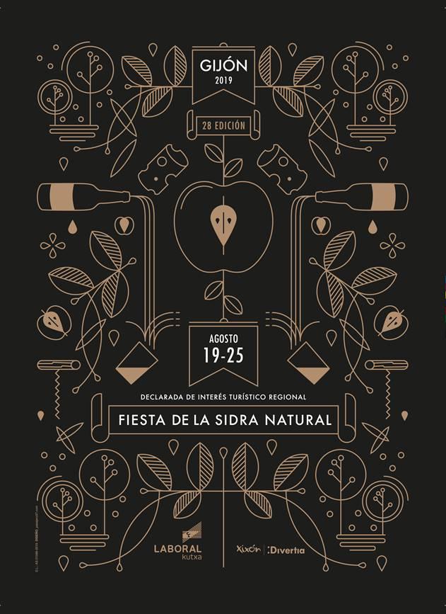 La Fiesta de la Sidra Natural yá tien cartel