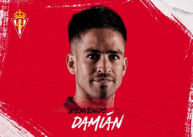 Damián Pérez firma col Sporting por dos temporaes