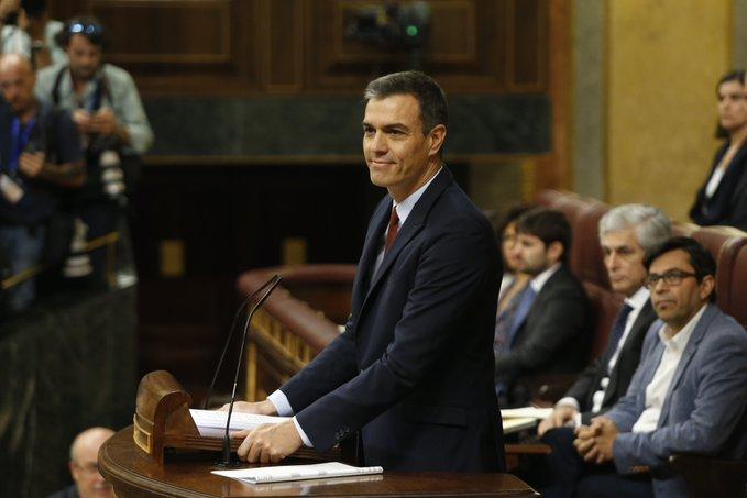 En directo: debate d'investidura de Pedro Sánchez