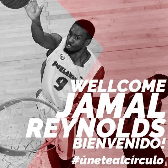Jamal Reynolds, nuevu aleru del Círculu Xixón