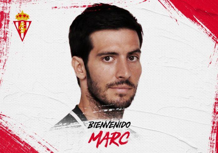 Marc Valiente, nuevu xugador del Sporting