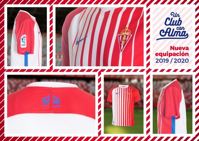 El Sporting presenta la so nueva camiseta