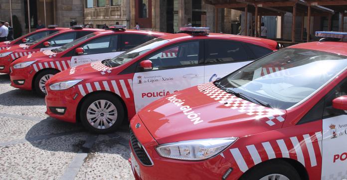 Policía llocal Xixón