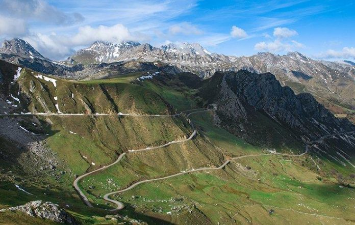 Asturies protagoniza esta fin de selmana La Vuelta
