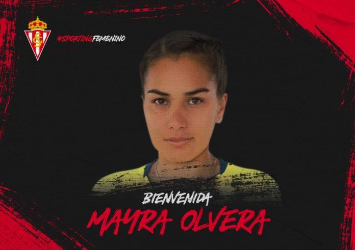 Mayra Olvera, nueva incorporación del Sporting Femenín