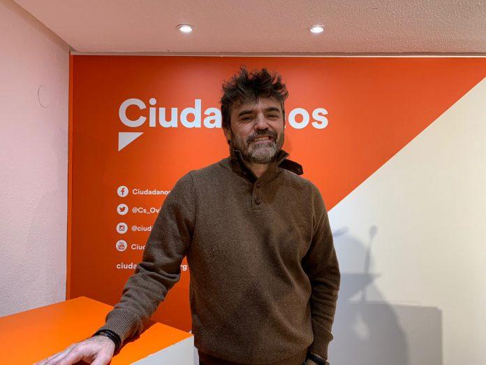 Luis Fanjul, diputáu de Ciudadanos na Xunta Xeneral