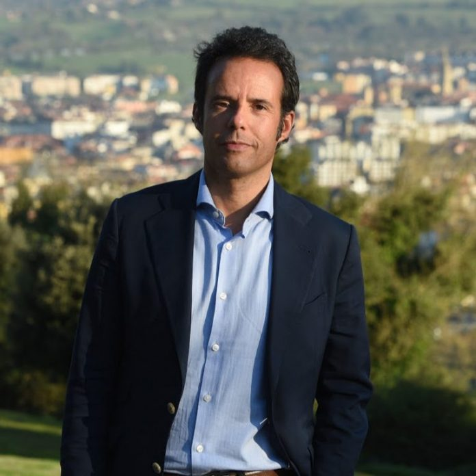 Nacho Cuesta, conceyal de Ciudadanos n'Uviéu