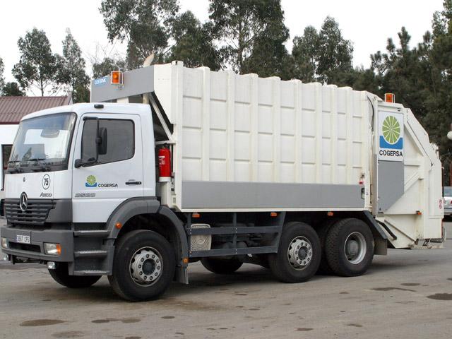 Camión de basures